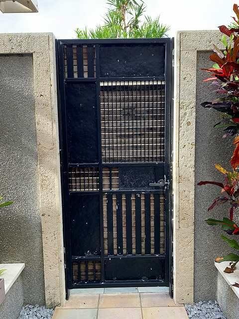 リッツ沖縄ーカバナからプール入口