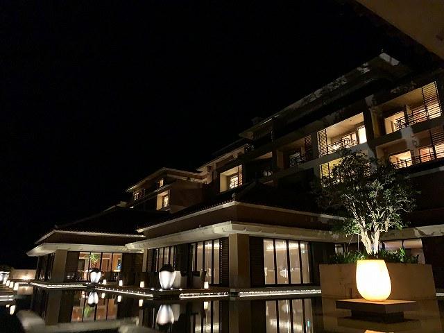 リッツ沖縄ー夜景2