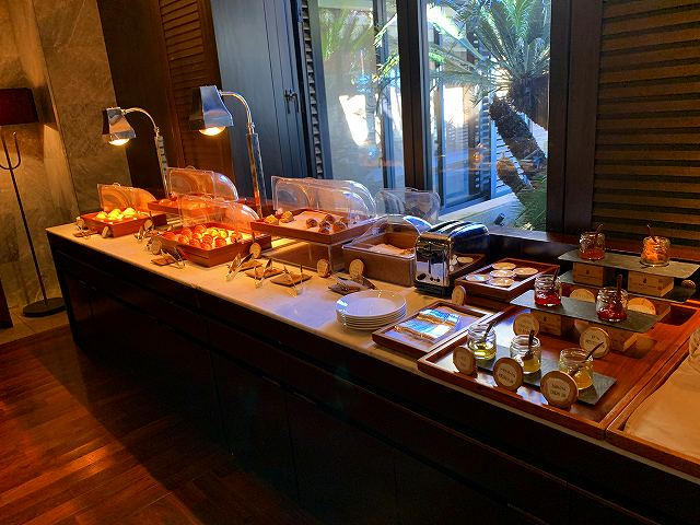 リッツ沖縄ー朝食