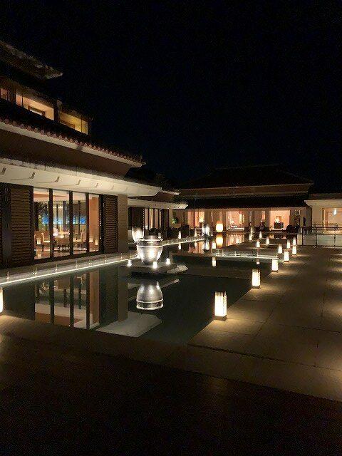 リッツ沖縄夜景