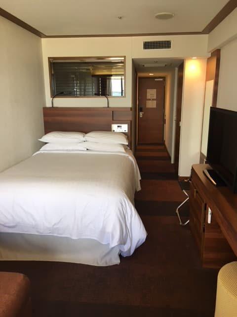 シェラトン沖縄サンマリーナリゾートーアップグレードお部屋