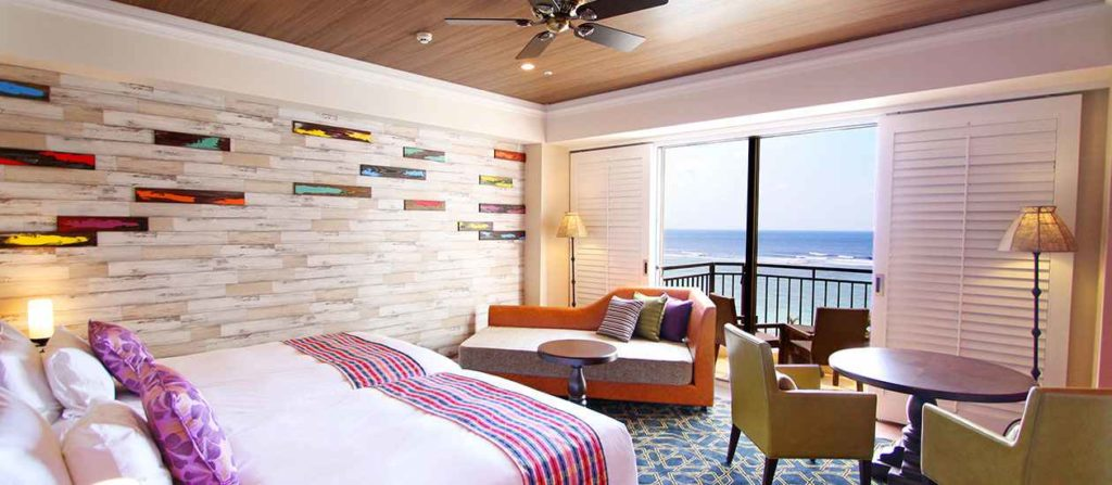 沖縄ホテル日航アリビラースーペリアツイン