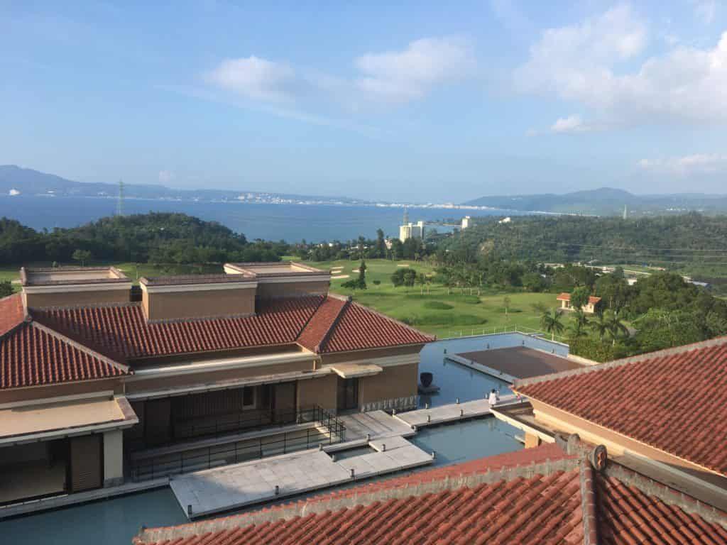 リッツカールトン沖縄 部屋から景色
