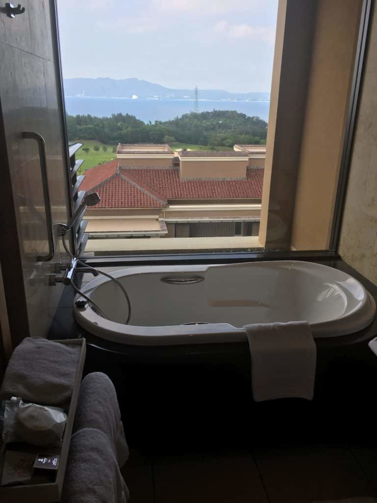 リッツカールトン沖縄 スイート バスルーム