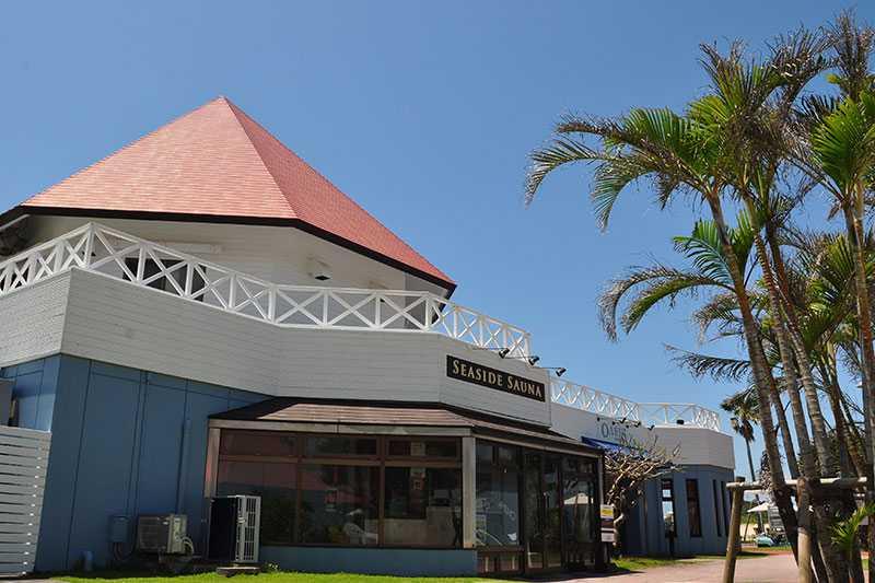 オクマプライベートビーチ&リゾートー大浴場外観