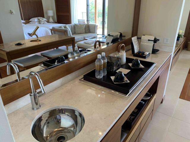 アットブセナー洗面台