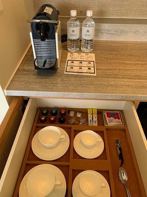 ハレクラニ沖縄スタンダードルーム、コーヒー