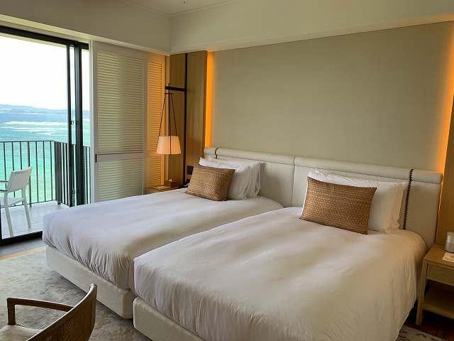 ハレクラニ沖縄スタンダードルームベッド