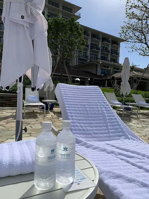 ハレクラニ沖縄ビーチベッド