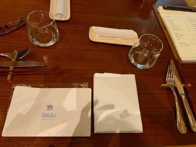 ハレクラニ沖縄夕食1