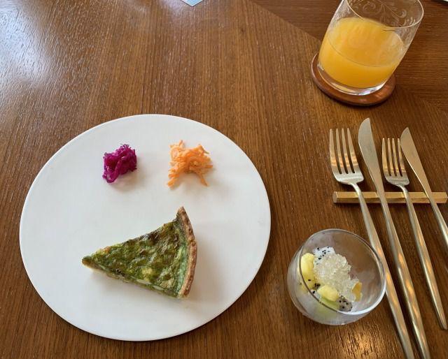 ハレクラニ沖縄朝食前菜