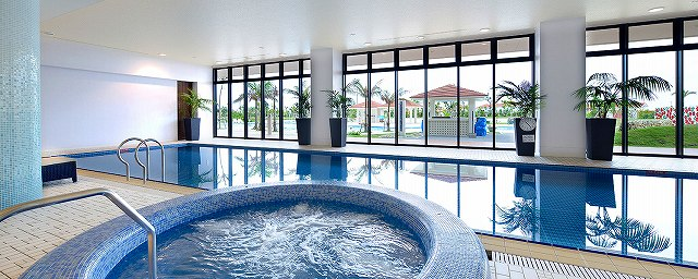 サザンビーチホテル-インドアプール