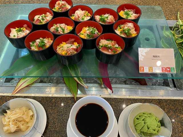 サザンビーチ夕食4-海鮮丼