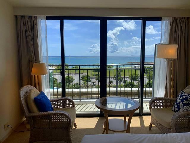 サザンビーチホテル景色2