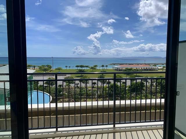サザンビーチホテル-バルコニー