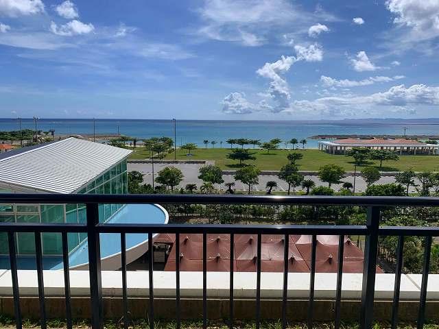 サザンビーチホテル-バルコニー景色