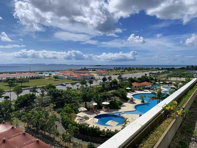 サザンビーチホテル-部屋からの眺望
