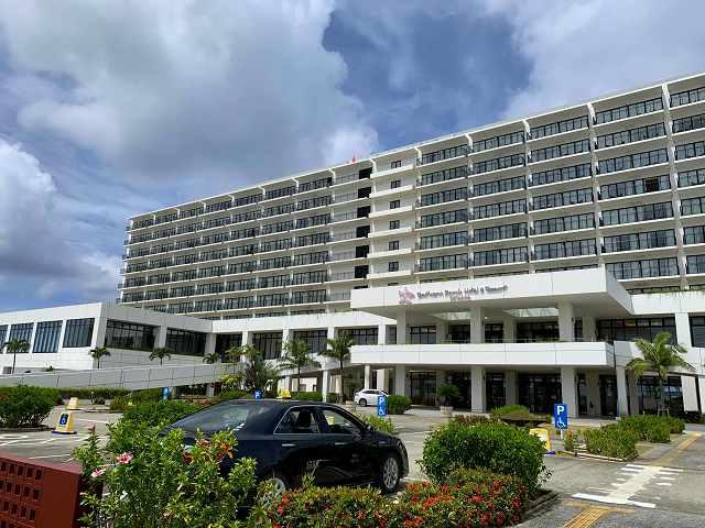 サザンビーチホテル外観