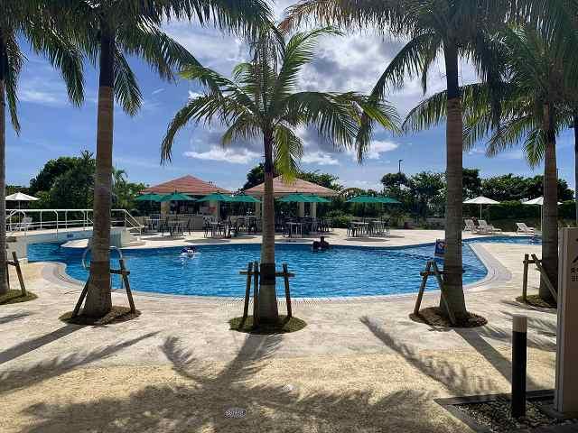 サザンビーチホテル-屋外プール