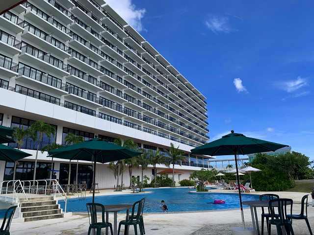 サザンビーチホテル-屋外プール2