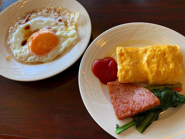 サザンビーチ-朝食3-ポークたまご